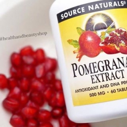 Source Naturals, Pomegranate Extract, 500 mg, 60 Tablets