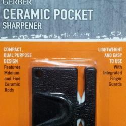 ที่ลับมีด GERBER Ceramic Pocket Sharpener แบบเซรามิก พกพาง่ายน้ำหนักเบา