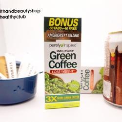 # ลดน้ำหนักตัวใหม่ # Purely Inspired, Green Coffee, 800 mg, 100 Tablets