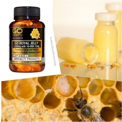 GO Healthy Go Royal Jelly 1,000mg 180 softgels