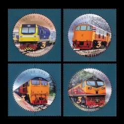 แสตมป์ชุุด 120 ปี รถไฟไทย ปี 2560 (ยังไม่ใช้)