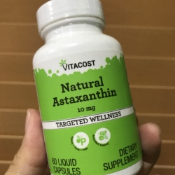 Vitacost Natural Astaxanthin 10 mg - 60 Softgels