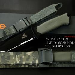 มีดใบตาย Gerber Prodigy Combat Tanto Knife ใบเรียบ น้ำตาล ขนาด 10 นิ้ว (OEM)
