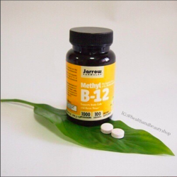 # บ้านหมุน # Jarrow Formulas, Methyl B-12, Lemon Flavor, 1000 mcg, 100 Lozenges