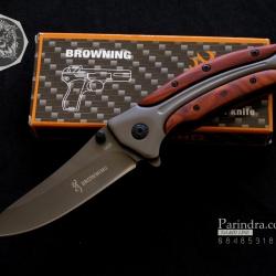 มีดพับ Browning รุ่น DA58 ขนาด 8 5/8 นิ้ว แข็งแรง หนักตัน ทนทานมาก (OEM)