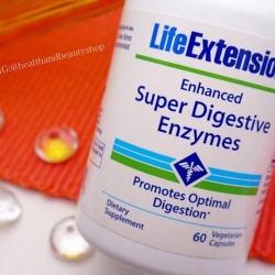 Life Extension, Enhanced Super Digestive Enzymes, 60 Veggie Caps