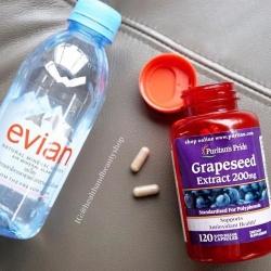 # หน้าใส # Puritan's Pride Grapeseed Extract 200 mg 120 Capsules