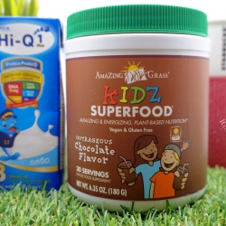 Amazing Grass, Kidz SuperFood, Outrageous Chocolate Flavor, 6.5 oz (180 g)
