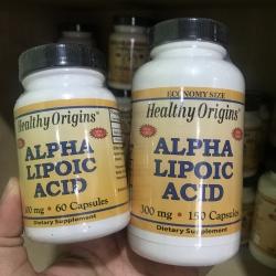 Healthy Origins, Alpha Lipoic Acid, 300 mg, Capsules