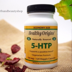 Healthy Origins, Natural 5-HTP, 100 mg, 120 Veggie Caps