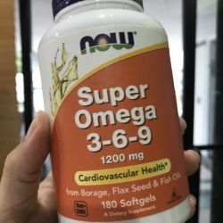 Now Foods, Super Omega 3 - 6 - 9, 1200 mg, 180 Softgels