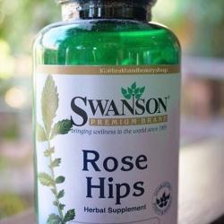 Swanson Premium Rose Hips 500 mg 120 Caps
