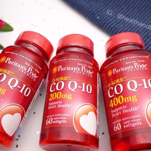# ไม่อยากแก่ # Puritan's Pride Co Q-10 200 mg Softgels