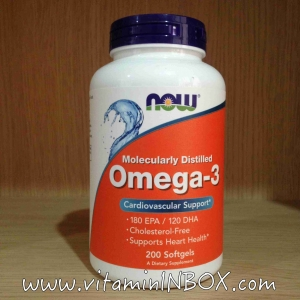 # ความดัน # Now food Omega 3 200 Softgel