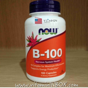 Now Foods, B-100, 100 Capsules