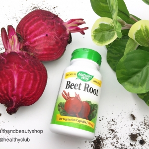 # สิวมีหัว # Nature's Way, Beet Root, 500 mg, 100 Capsules