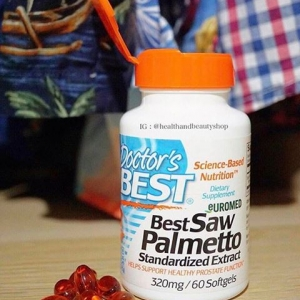 Doctor's Best, Best Saw Palmetto Standardized Extract, 320 mg, 60 Softgels