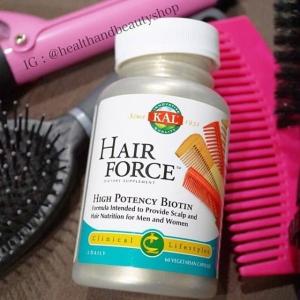 KAL, Hair Force, High Potency Biotin, 60 Veggie Caps