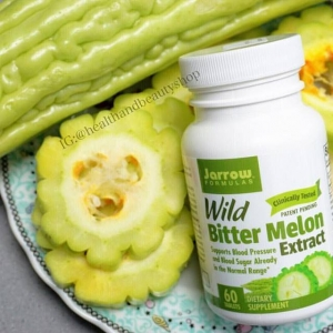 # บำรุงสุขภาพ # Jarrow Formulas, Wild Bitter Melon Extract, 60 Tablets
