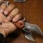 มีดคารัมบิต (Karambit) Tactical Karumbit Deresrina Knife (OEM) ด้ามไม้สีน้ำตาลแดง thumbnail 2
