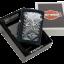 """ไฟแช็ค Zippo แท้ """"Harley Davidson - IRON Eagle Black Matte """" #Zippo 28485 แท้นำเข้า 100% thumbnail 9"""
