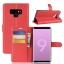 เคส Samsung Note 9 แบบฝาพับหนังเทียม ด้านในสามารถใส่บัตรได้ ราคาถูก thumbnail 10