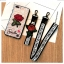 เคส Vivo V9 tpu ลูกไม้ปักดอกกุหลาบพร้อมสายคล้อง 2 สั้น/ยาว(ใช้ภาพรุ่นอื่นแทน) thumbnail 2