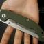 มีดพับ Land Knife GB 913G ด้ามสีเขียวทหาร (ของแท้) สวยงาม แกร่ง ทนทาน thumbnail 7