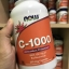 Now Foods, C-1000, With 100 mg of Bioflavonoids, 250 Veg Capsules thumbnail 1