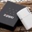 """ไฟแช็ค Zippo แท้ """" Zippo 214ZL Logo White Matte Finish Lighter """" แท้นำเข้า 100% thumbnail 3"""