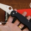 มีดพับ Spyderco รุ่น Paramilitary 2 ด้าม G10 สีดำสนิท ขนาด 8 นิ้ว (OEM) A++ (FA35) thumbnail 3