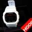 นาฬิกา Hoops ระบบดิจิตอลสีขาวทึบ thumbnail 1