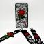 เคส ไอโฟน 6/6s 4.7 นิ้ว tpu ลูกไม้ปักดอกกุหลาบพร้อมสายคล้อง 2 สั้น/ยาว thumbnail 5