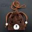 กระเป๋าใส่เหรียญ น่ารัก แบบห้อยคอ หมีสีน้ำตาล thumbnail 1