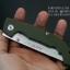 มีดพับ Land Knife GB 913G ด้ามสีเขียวทหาร (ของแท้) สวยงาม แกร่ง ทนทาน thumbnail 6