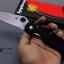 มีดพับ Spyderco ด้าม G10 สีดำสนิท คมกริบ ขนาด 9.5 นิ้ว (OEM) A++ thumbnail 5
