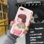 เคสนิ่มลายผู้หญิง 3Dห้อยพู่แต่งเพชร ไอโฟน 6plus/6s plus 5.5 นิ้ว thumbnail 3