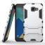 เคส Samsung Galaxy A5 2016 เคสกันกระแทกแยกประกอบ 2 ชิ้น ด้านในเป็นซิลิโคนสีดำ ด้านนอกพลาสติกเคลือบเงาโลหะเมทัลลิค มีขาตั้งสามารถตั้งได้ สวยมากๆ เท่สุดๆ ราคาถูก thumbnail 9