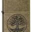 """ไฟแช็ค Zippo แท้ ต้นไม้แห่งชีวิต """"Tree of Life Antique Brass Finish"""" Lighter # 29149 แท้นำเข้า 100% thumbnail 2"""