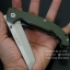 มีดพับ Land Knife GB 913G ด้ามสีเขียวทหาร (ของแท้) สวยงาม แกร่ง ทนทาน thumbnail 5