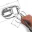 ขาย หูฟัง TTPOD T2E หูฟัง3 Driver (2BA 1Dynamic) สายชุบเงิน รุ่นเบสหนัก - สีดำใส thumbnail 4