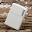 """ไฟแช็ค Zippo แท้ """" Zippo 214ZL Logo White Matte Finish Lighter """" แท้นำเข้า 100% thumbnail 1"""