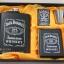 ชุดกระป่องสแตนเลส Jack Daniel's อย่างดี สำหรับพกพา สีดำผิวด้าน thumbnail 1