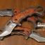 มีดคารัมบิต (Karambit) Tactical Karumbit Deresrina Knife (OEM) ด้ามไม้สีน้ำตาลแดง thumbnail 4