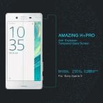 ฟิล์มกระจกนิรภัยด้านหน้า Sony Xperia X รุ่น Nillkin Amazing H+ Pro