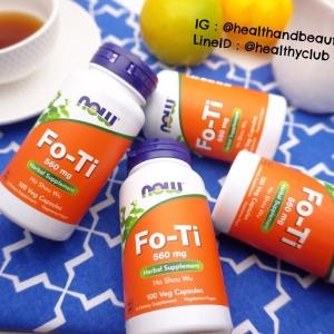 # ผมหงอก # Now Foods, Fo-Ti, Ho Shou Wu, 560 mg, 100 Capsules