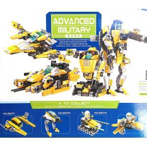 สงครามอวกาศ (Space war) W-56171-56174 เซ็ต 4 กล่องรวมร่าง