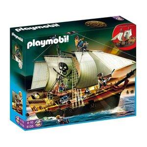 Playmobil 5135 Pirates Large Pirate Ship (กล่องมีรอยขาดเล็กน้อย)