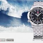 นาฬิกาข้อมือชายแฟชั่น Shank Sport watch SH037