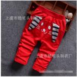 กางเกง สีแดง แพ็ค 4ชุด ไซส์ (เหมาะสำหรับ0-4ขวบ)
